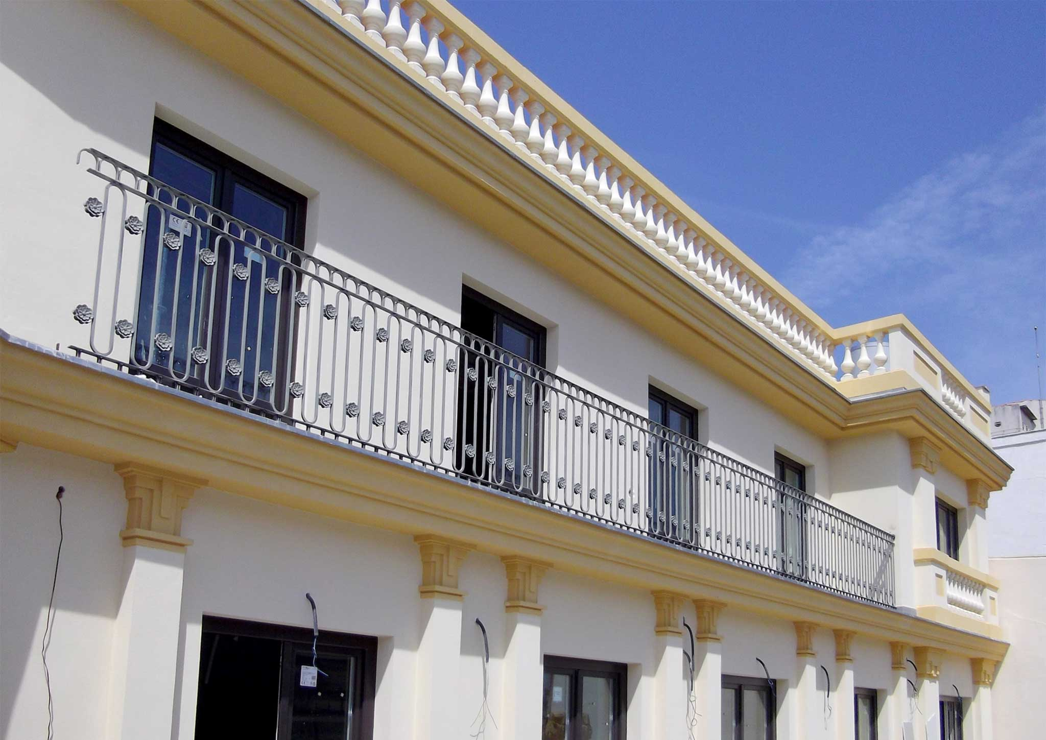 Fachada palacio luchana madrid otero arquitectos - Arquitectos interioristas madrid ...