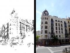 FACHADA PALACIO LUCHANA -MADRID