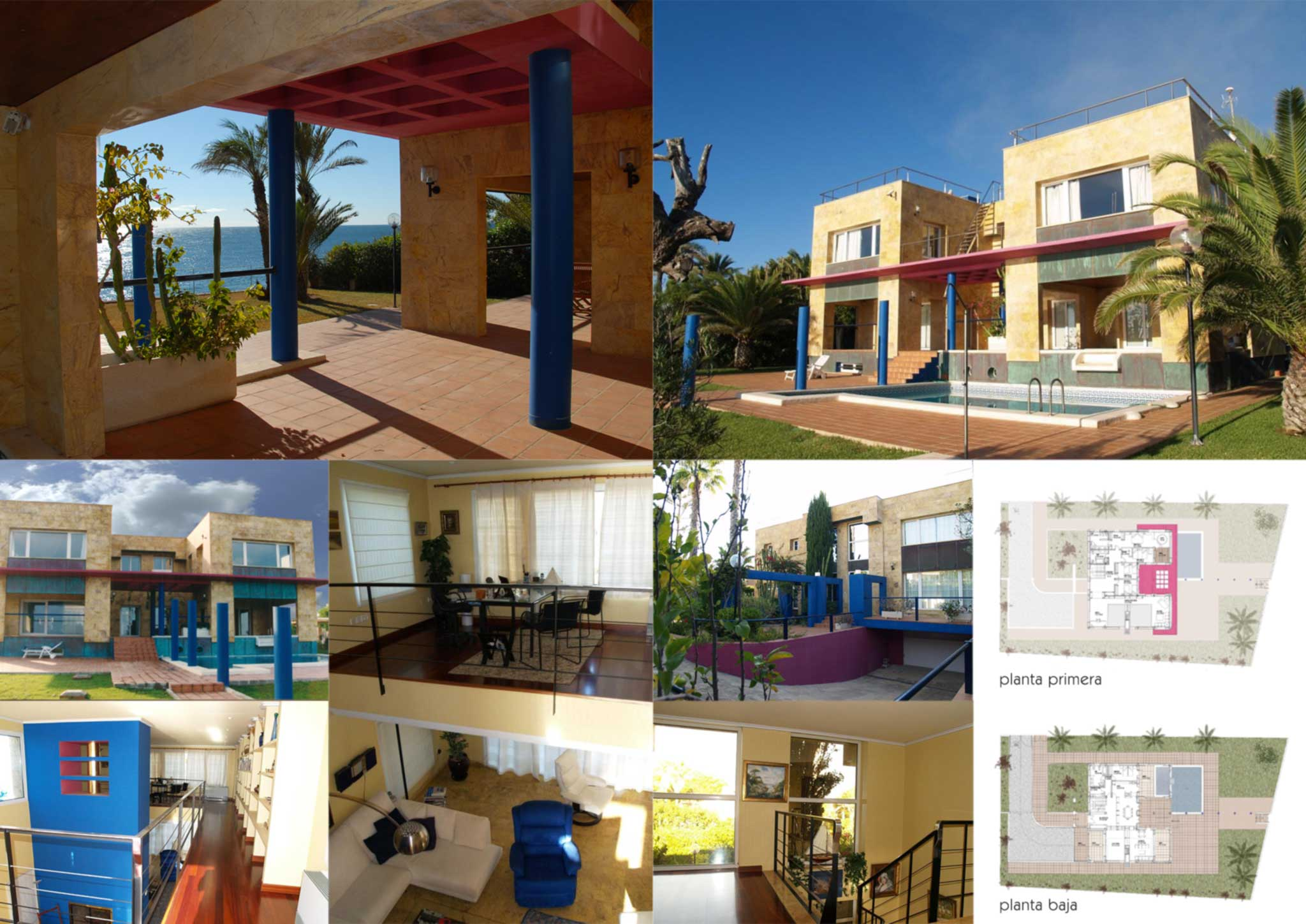 Villa en cabo roig alicante otero arquitectos - Arquitectos en alicante ...